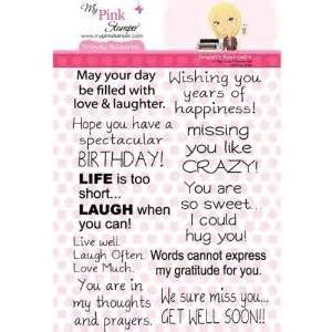 My Pink stamper everyday sentiments - Yahoo! Image Search Results
