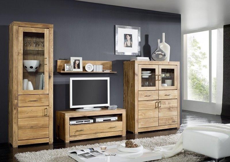 Massivholzmöbel Modern eine wohnwand stilvoll und modern eingerichtet unsere