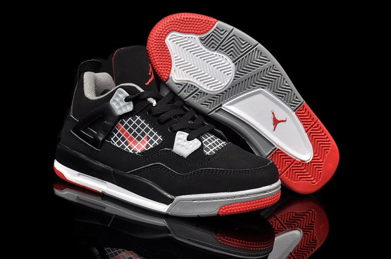 Officiel Nike air jordan 4 Enfants 683 Shoes [Air Jordan Enfants ...