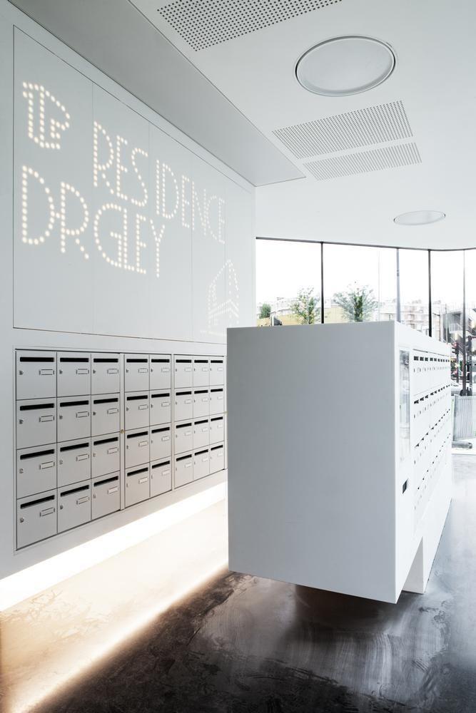 Mail Room Lockers