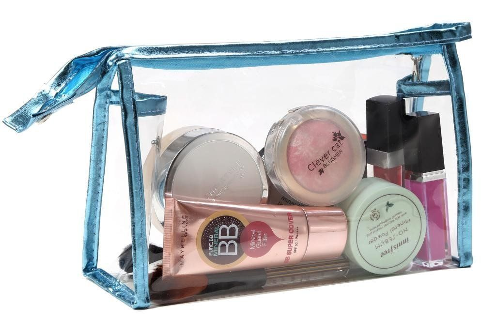 e3a27706f LOUISE MAELYS Waterproof Travel Bags Clear Cosmetic Bag PVC Toiletry Case  Organizer * Check out this