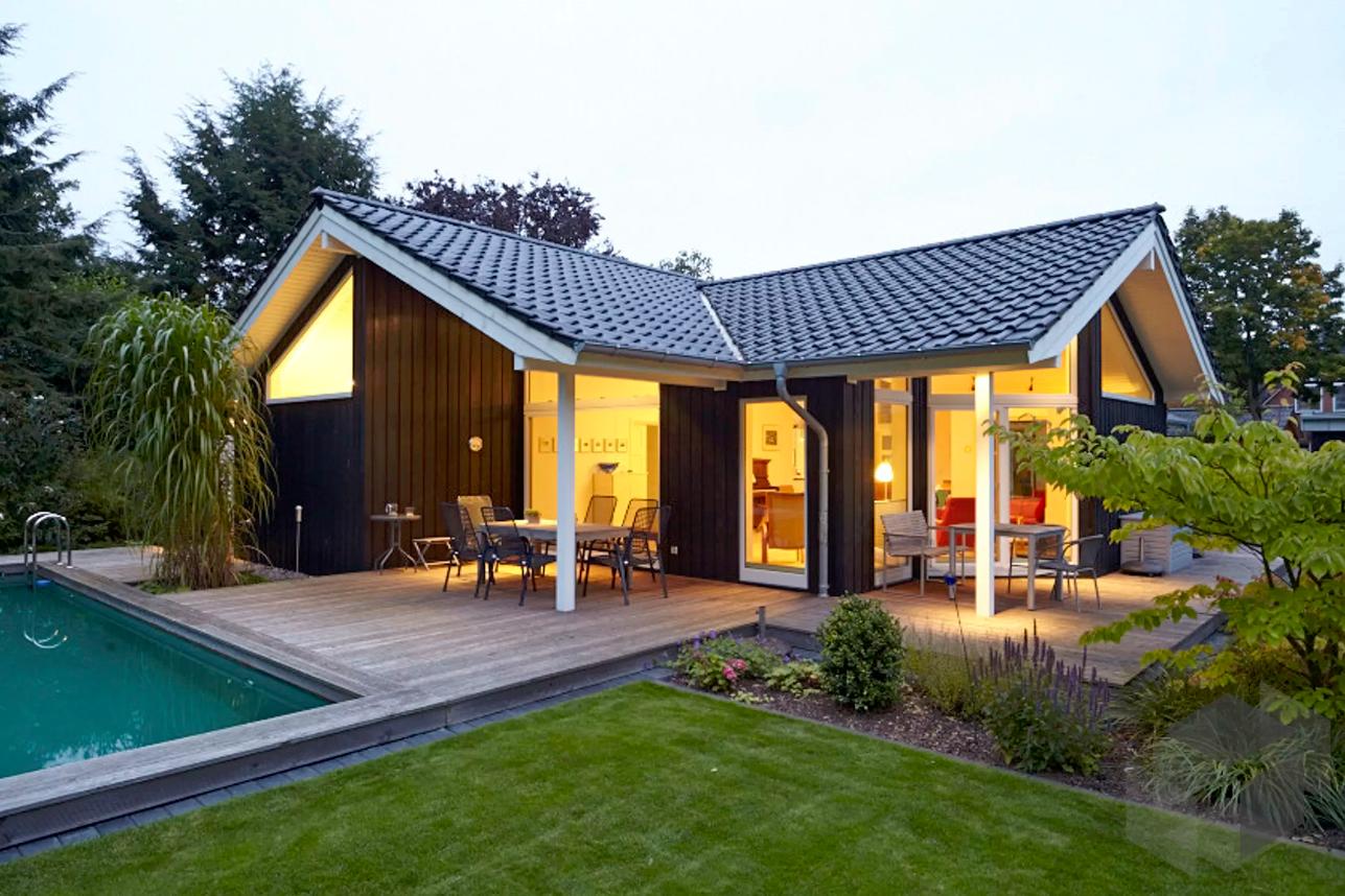 Musholm 94+11 von EBK Haus ist ein Bungalow im dänischen