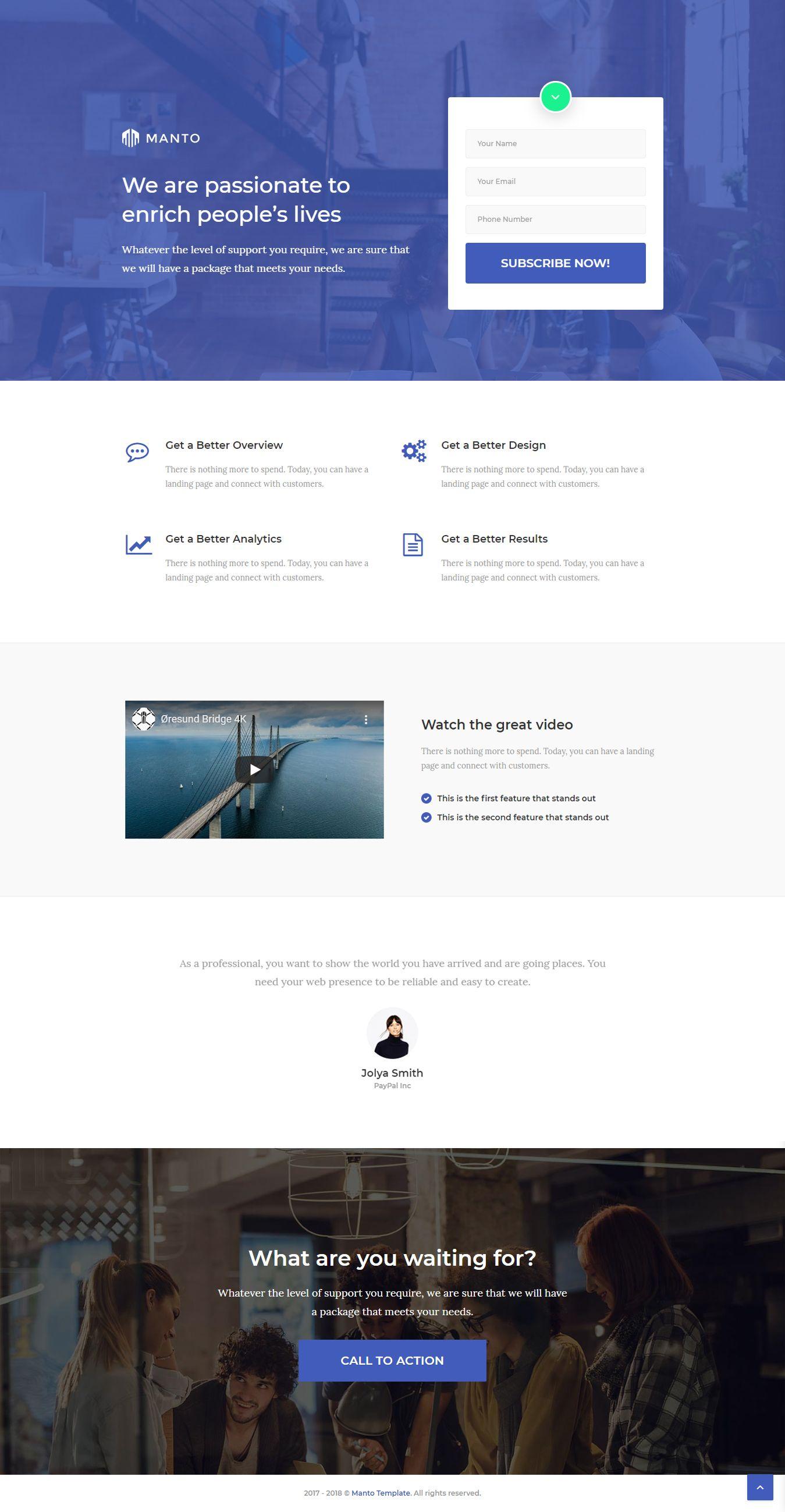 Lead Generation Landing Page Html Website Template In 2020 Lead Generation Landing Page Website Template Design