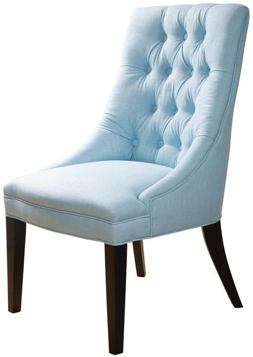 Charmant Light Blue Accent Chair