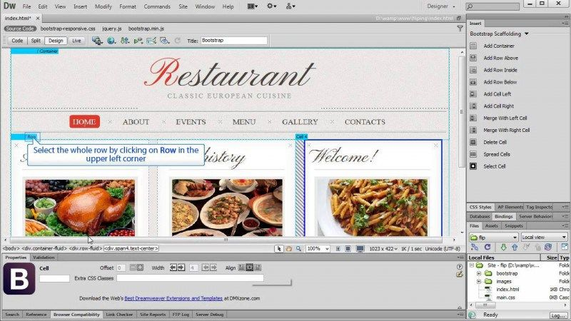 6. CREATE RESPONSIVE WEBSITES USING ADOBE DREAMWEAVER CC 2015 AND ...
