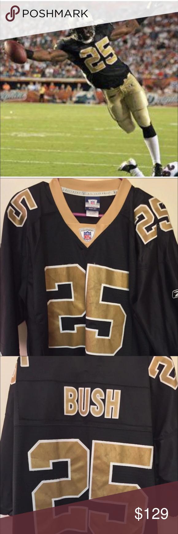 Jersey New Orleans Saints #25 Rafael Bush 2XL | New orleans saints ...