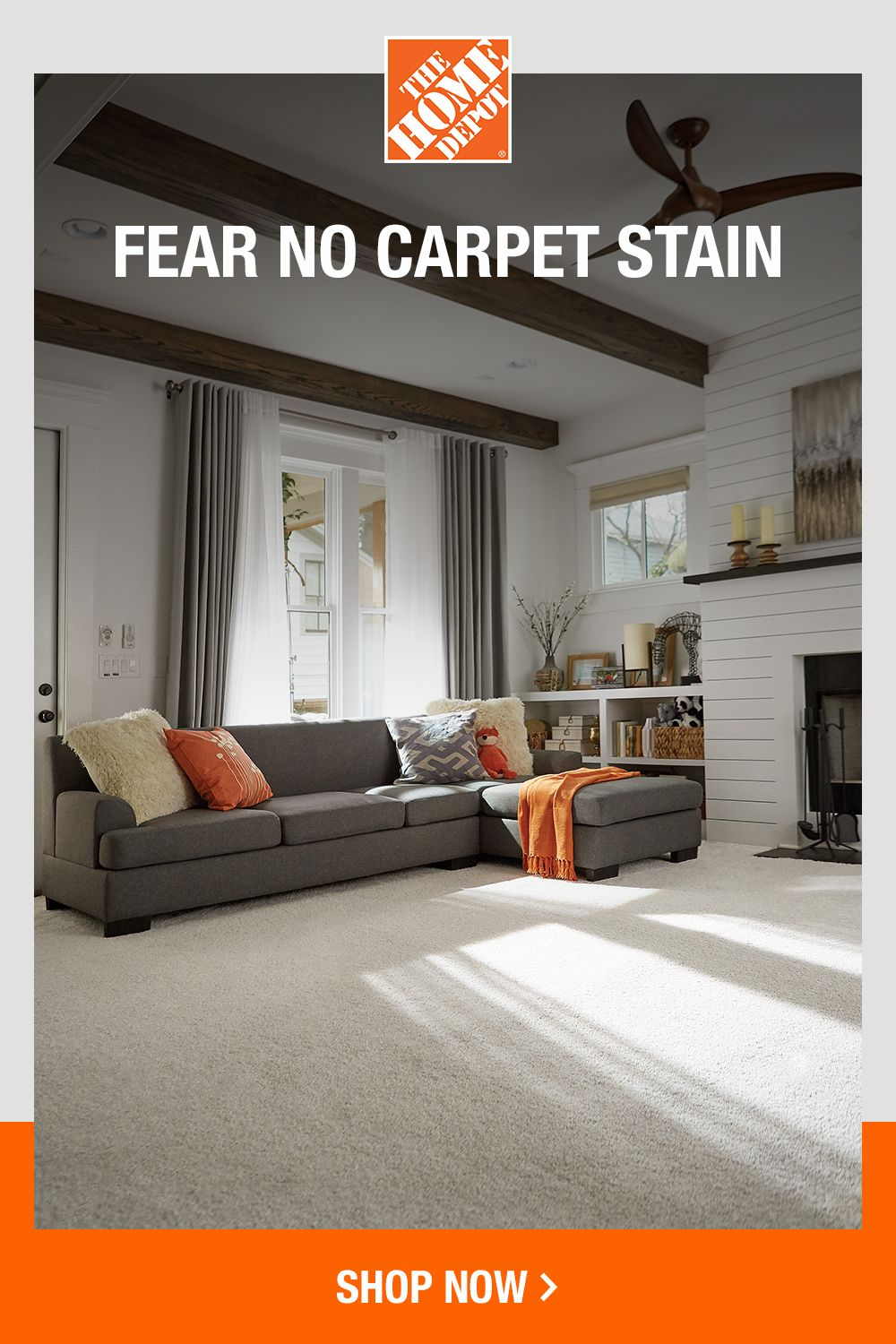 Give Your Floors The Protection Of Carpets From The Home Depot Farmhouse Decor Living Room Home Living Room Designs