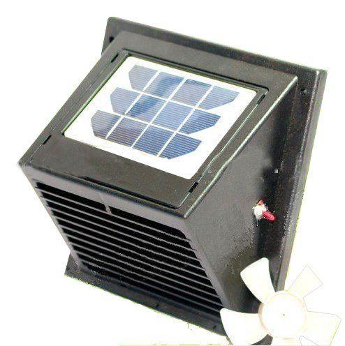 norestar wall solar powered vent fan