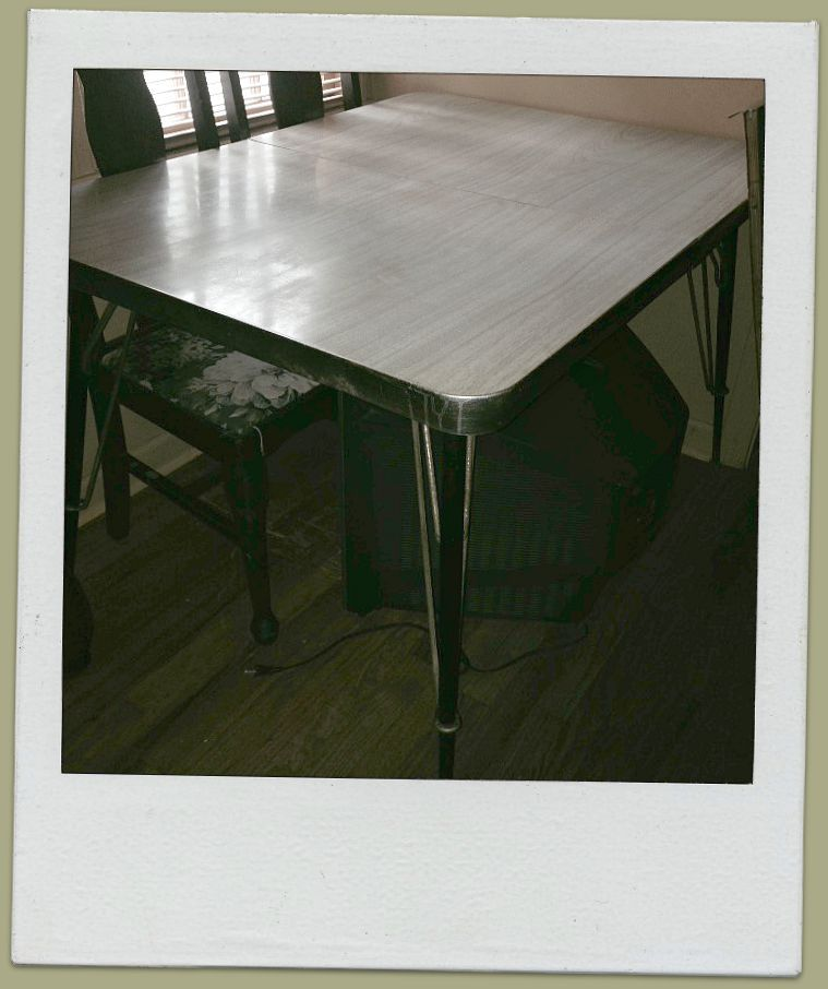 Good Lake Charles Louisiana · A 1950u0027s Formica Top Dinette Table. Antique  FurnitureHousehold ...