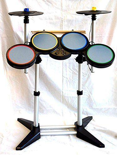PS4 PS3 PS2 GUITAR HERO and ROCK BAND Drum Kit 2CYMBAL band