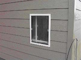 Installing Pet Door In Wall With Aluminum Or Vinyl Siding