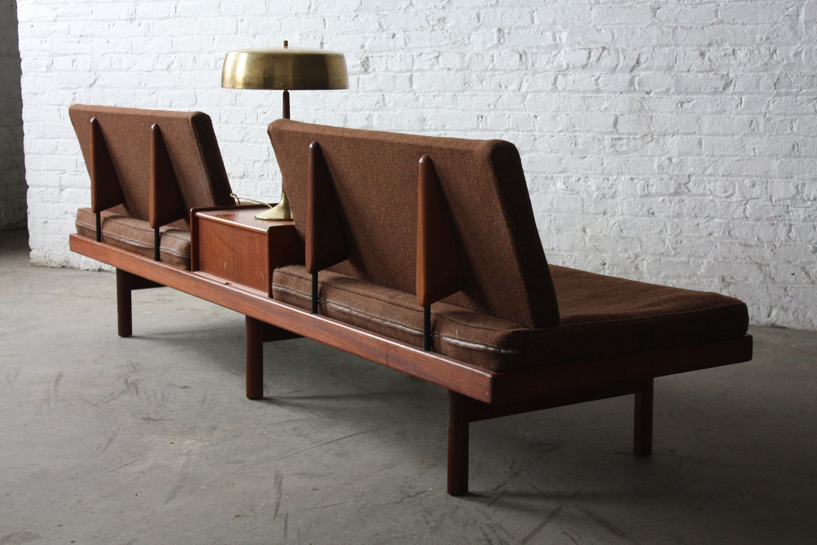 On Deck Memorable Scandinavian Mid Century Modern Karl Sorlie Sonner Platform Sofa Norway 1950 S By Kennyk K2modern