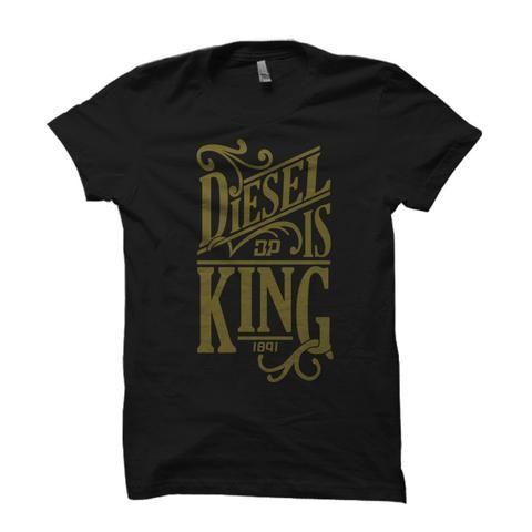 6c45485e Diesel is King Black / Small, Shirt - Diesel Power Gear, Diesel Power Gear  - 1