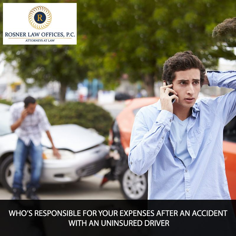 WHO'S RESPONSIBLE FOR YOUR EXPENSES AFTER AN ACCIDENT WITH
