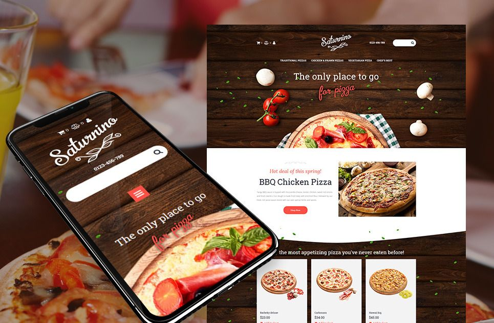 Pizza Pizzashop Makewebsite Webdesigns Webtemplates