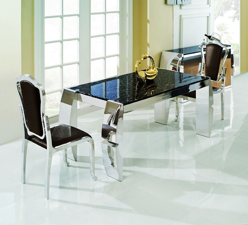 44++ Glass metal dining sets Tips