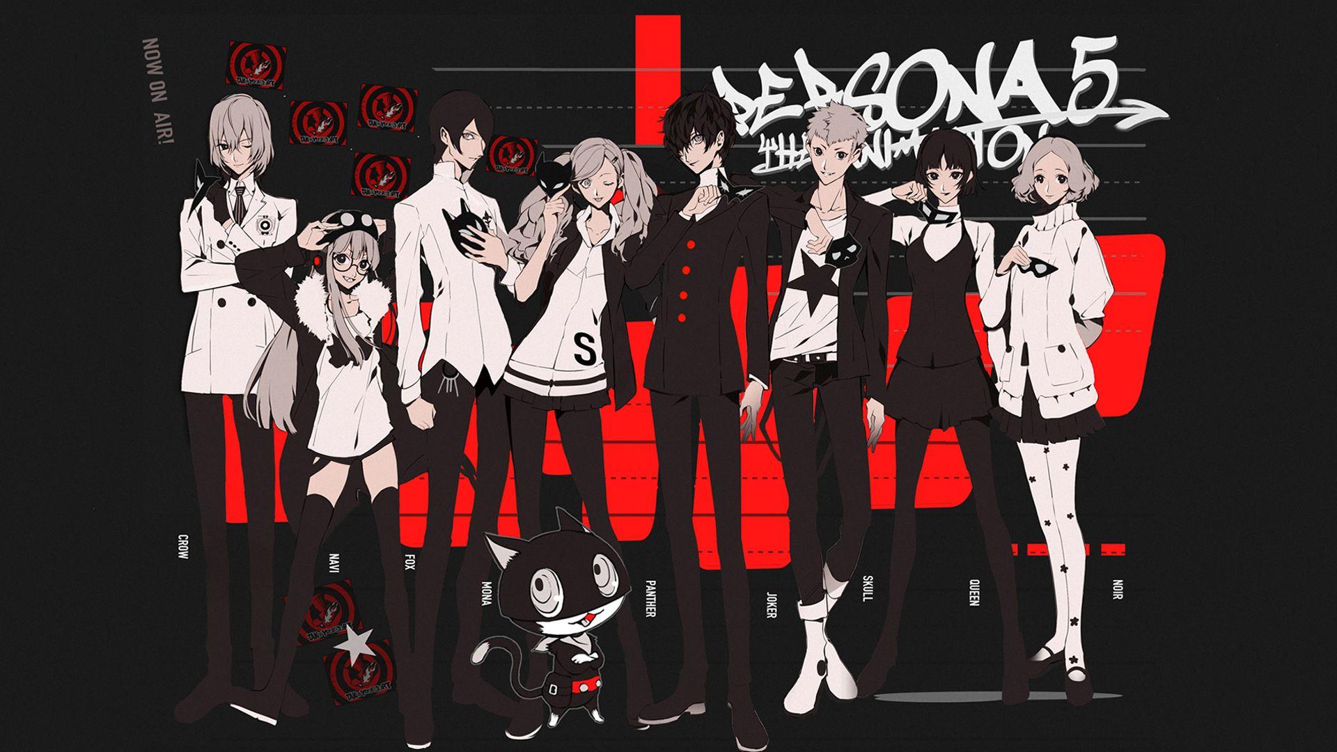 Persona 5 Live Wallpaper 1920x1080 Persona 5 Persona Persona 5 Anime