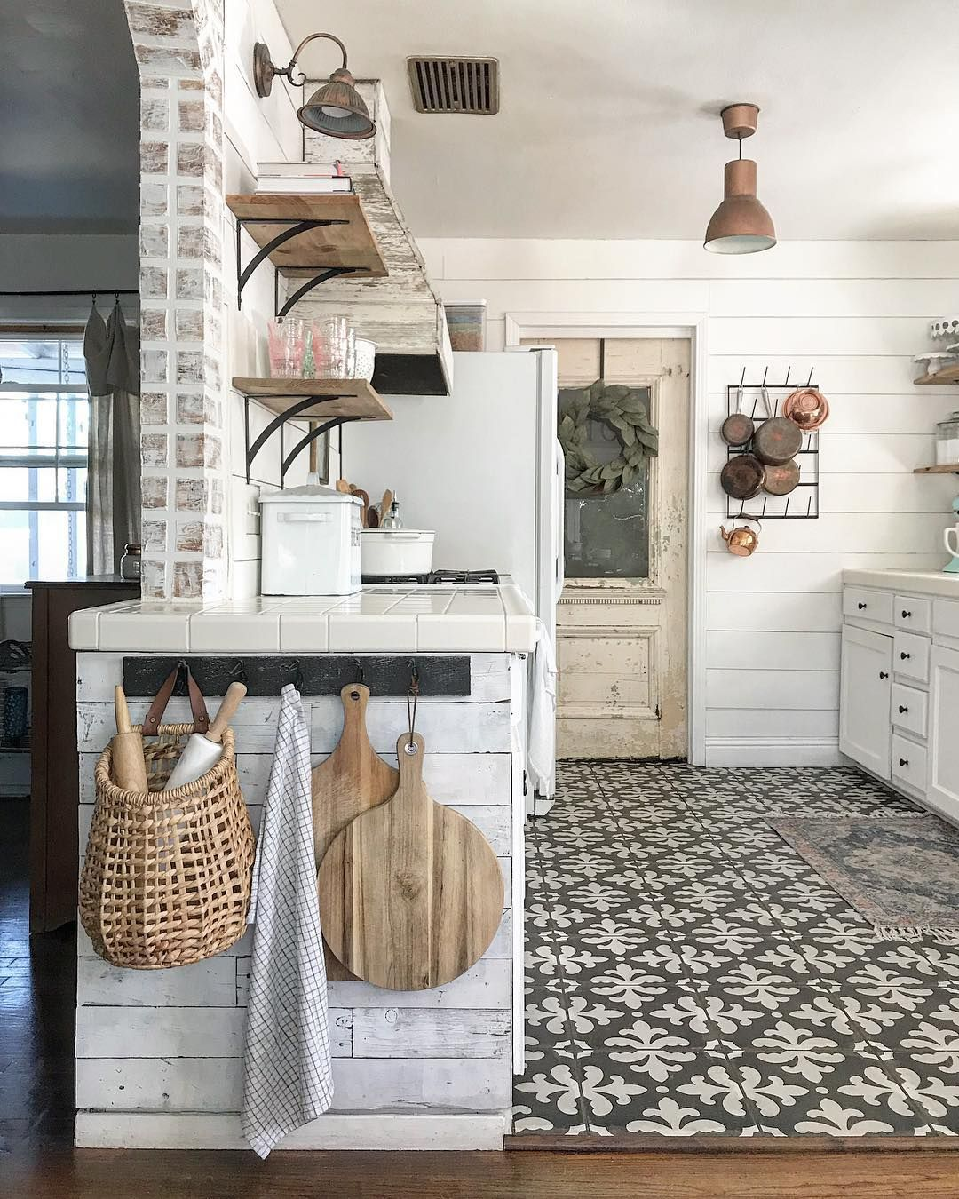 Home Design And Deko Shopping happily // ✧ | Farmhouse Kitchen Decor, Farmhouse Kitchen Design, Rustic Kitchen