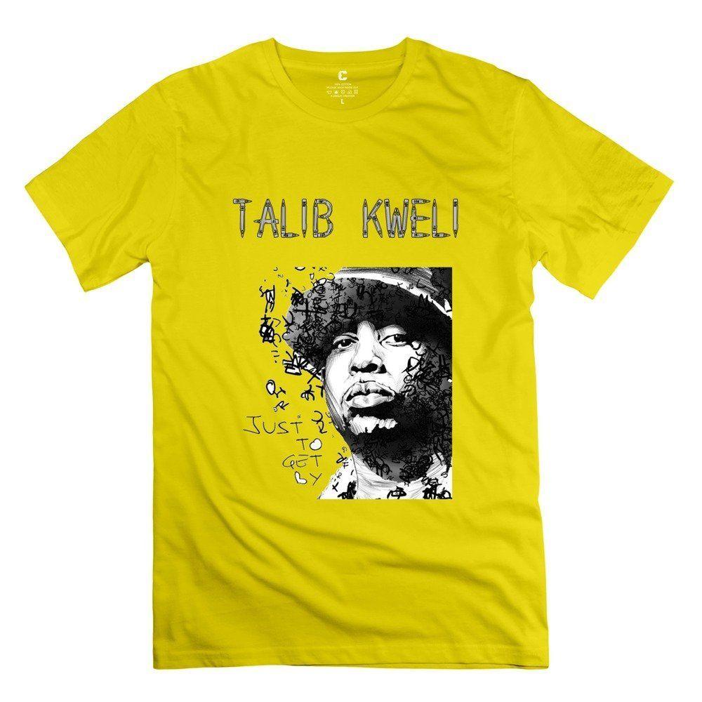 5829921cb Men Talib Kweli Custom Hot Natural T Shirt By RRG2G