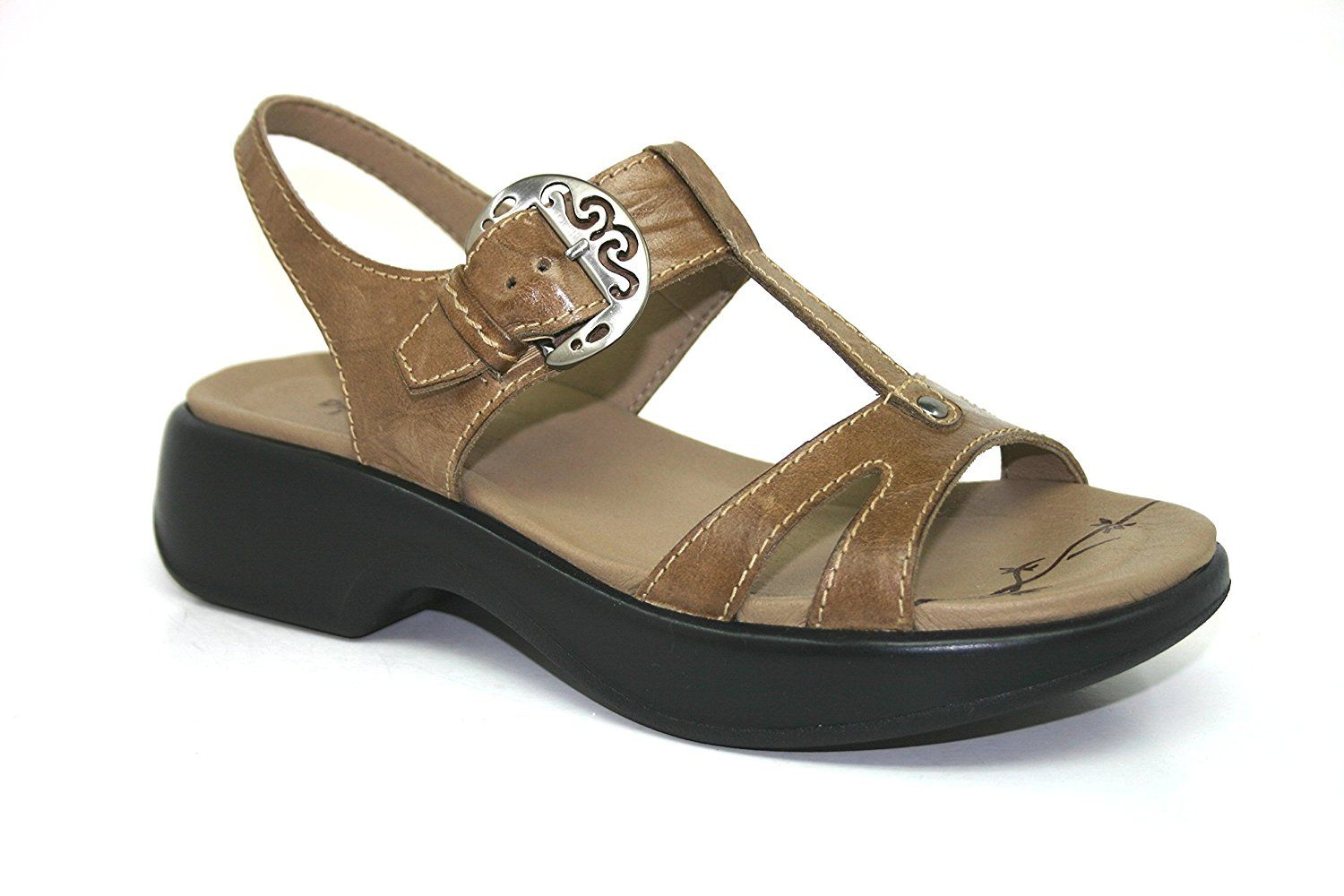 Dromedaris Women's Magpie T-strap sandal ** Click on the image for additional details.