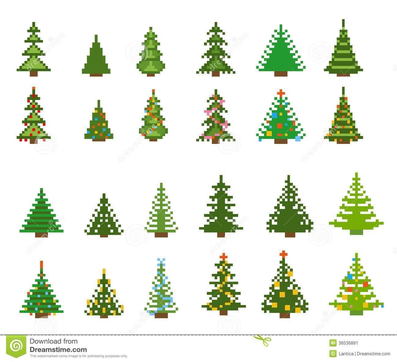 Christmas Trees Vector Image On Christmas Art Christmas Crafts