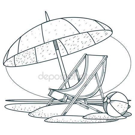 Disegno Ombrellone E Sdraio.Risultati Immagini Per Disegni Di Spiagge Con Ombrelloni E Sedie