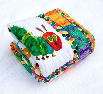 The Very Hungry Caterpillar Quilt… Etsy Version | Baby Quilts ... : caterpillar quilt pattern - Adamdwight.com