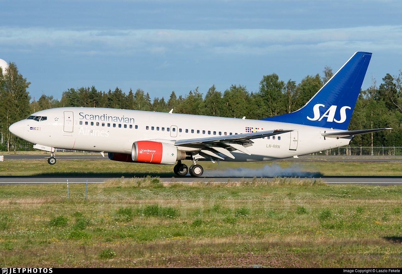 Airline Sas Scandinavian Airlines Registration Ln Rrn Aircraft Variant Customer Code Boeing 737 783 Aircraft Name Solveig Viking Location Oslo G