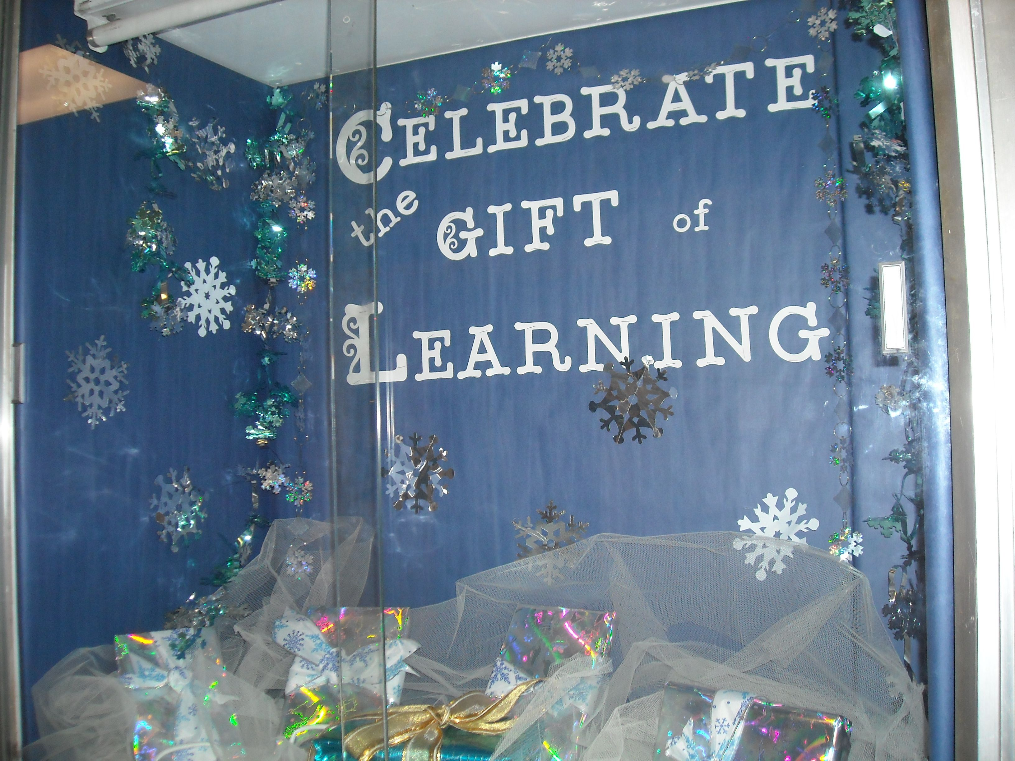 Winter Holiday--Celebrate the Gift of Learning