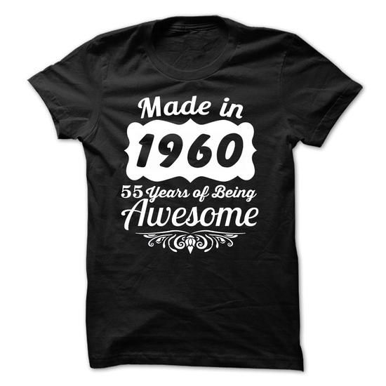 ... T-Shirt Design Software. awesome Good buys Made In 1955 - 60 Years Of  Being Awesome! Check more at ad959dfdb39