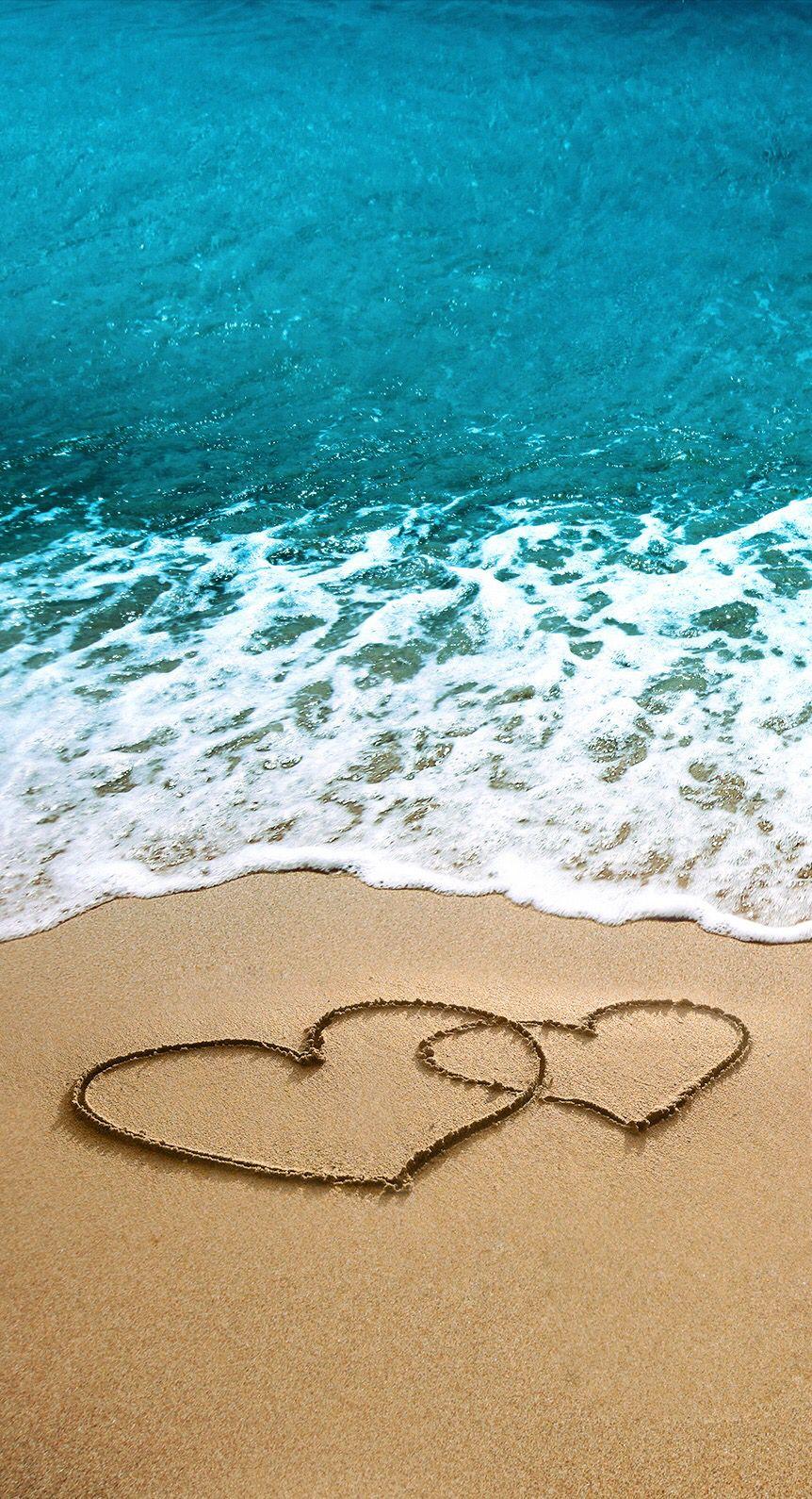 Love! ️ Summer wallpaper, Iphone wallpaper, Beach wallpaper