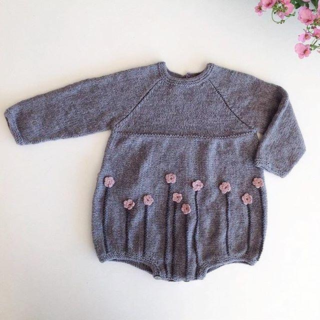 knitting for olive | flower romper