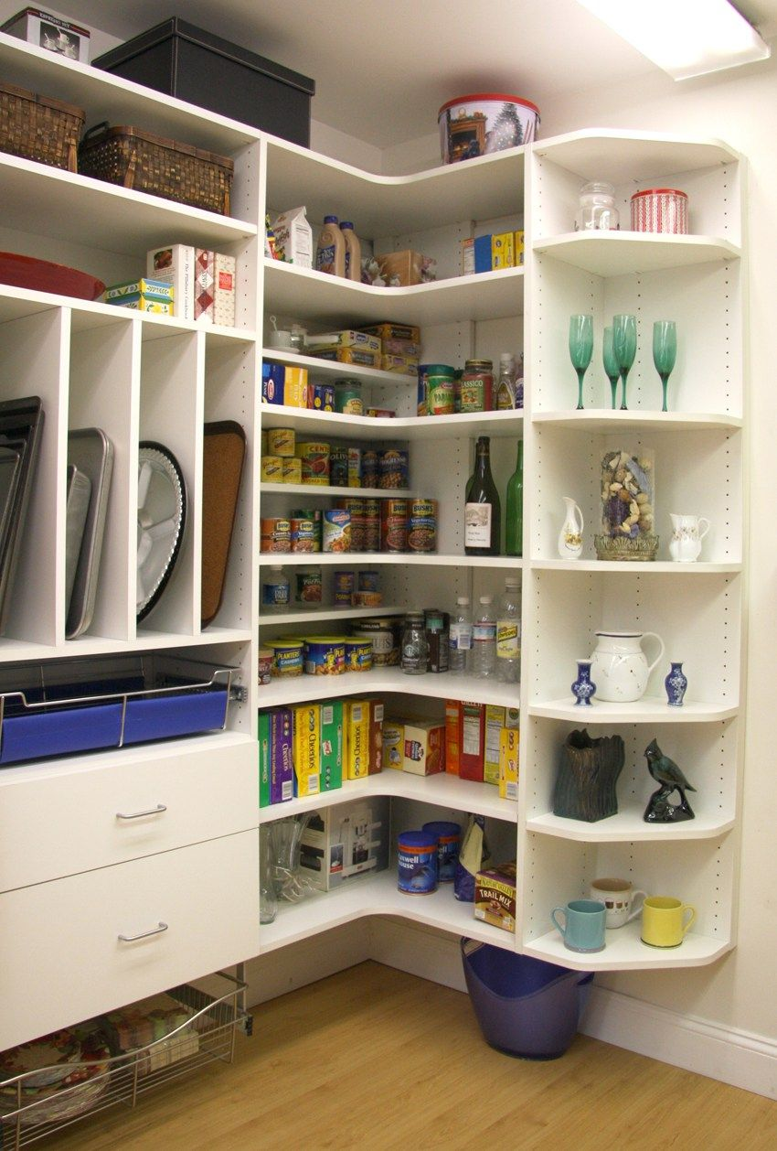 Custom Pantries Closet Design In Philadelphia By Closet City Ltd Pantry Closet Design Pantry Shelving Units Wood Pantry Shelving