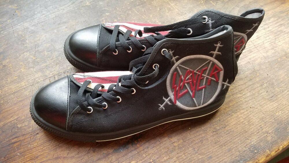 7744a30efc54e Slayer Tennis Shoes size 12 US Converse knock-off Unworn #fashion ...