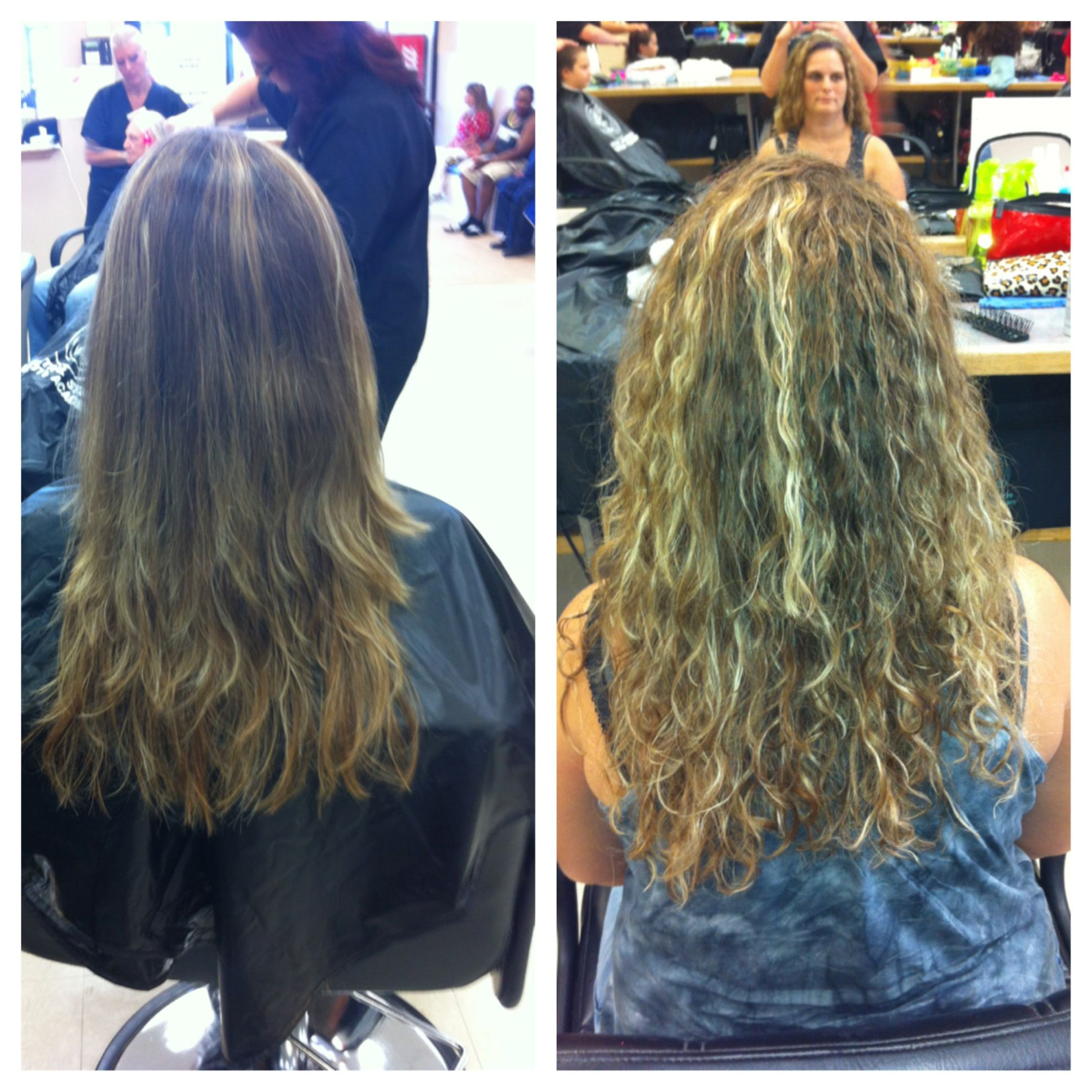 Undo straight perm - Perm Before An After