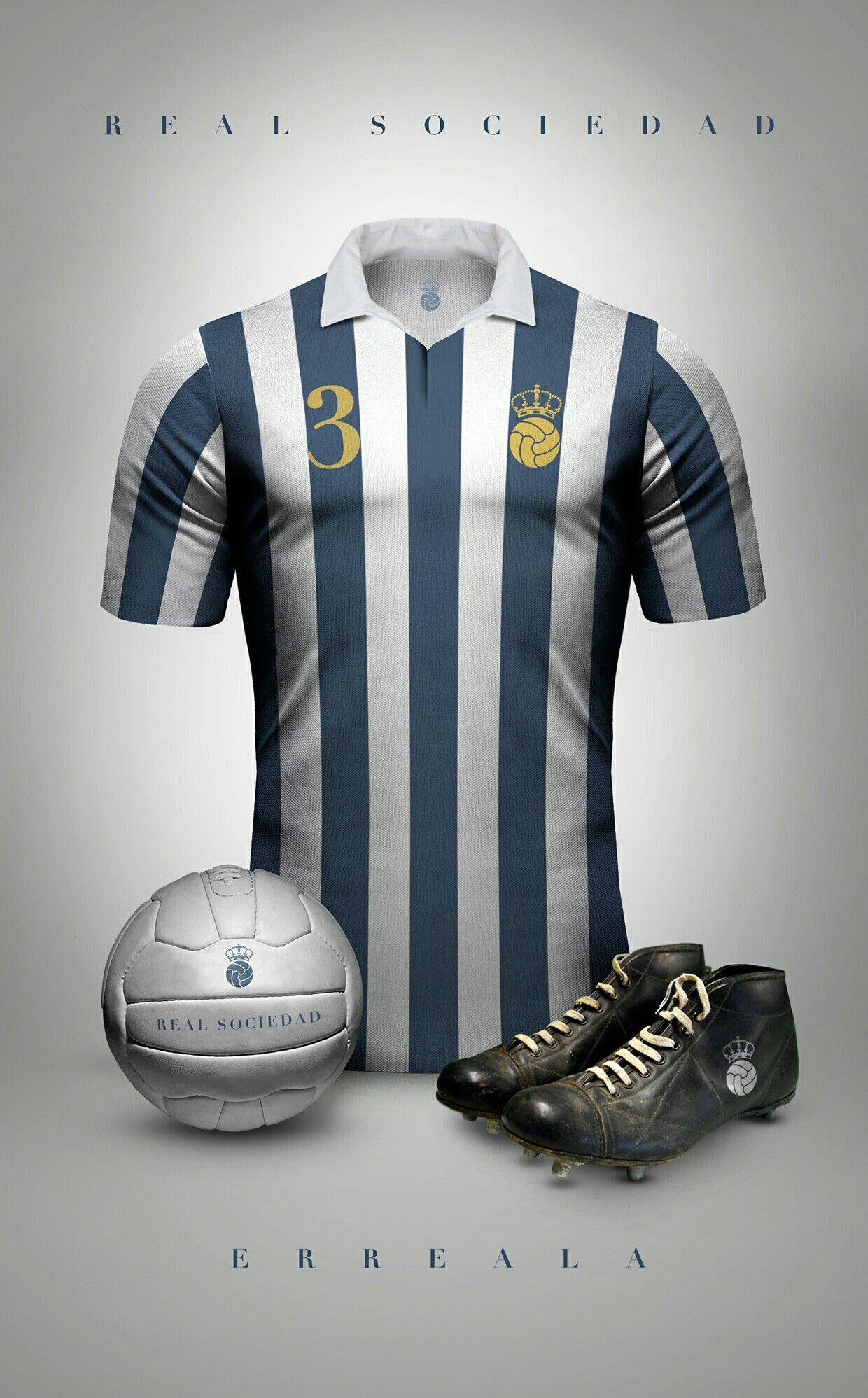 camisetas de futbol Real Sociedad deportivas