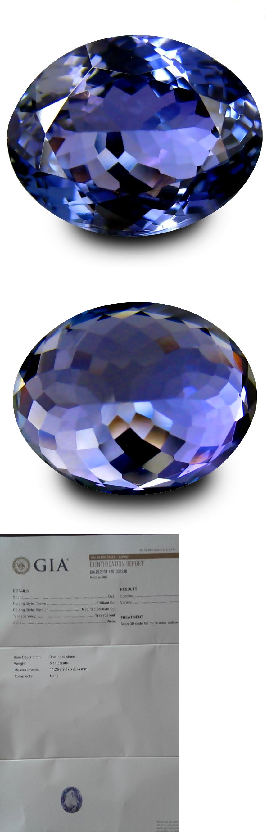 cushion loose cut pin square investment tanzanite grade natural carat