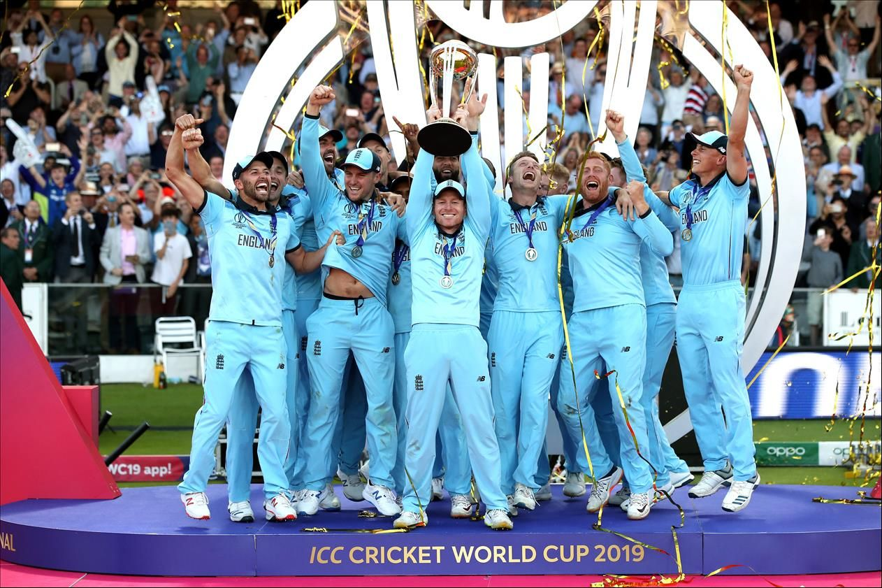 England Win Men S Cricket World Cup In A Last Ball Thriller Now Will The Country See More Matches On Free Tv With Images Cricket World Cup England Cricket Team World Cup