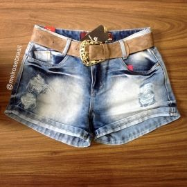 Short Jeans MB (ACOMPANHA CINTO)
