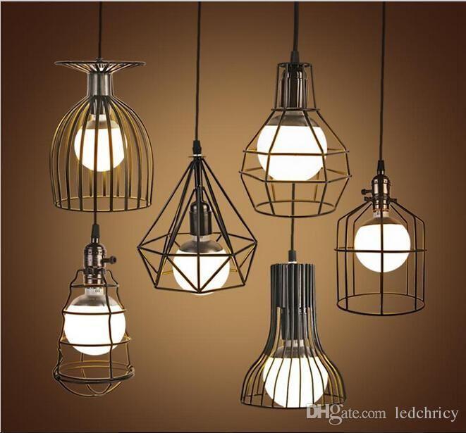 Super Bright Vintage Led Pendant Lights Industrial Lighting Cafe