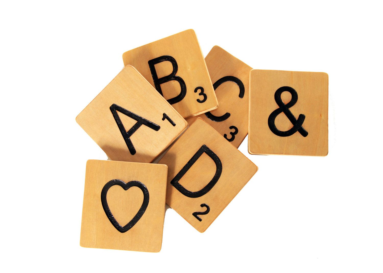 Large Scrabble Letter Tiles - Home Decor. $6.49, via Etsy. | For the ...