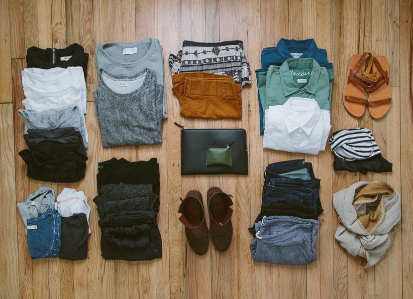 Space Optimized A Minimalists Guide To Packing Light For A Trip - 8 tips on how to pack light for your next vacation