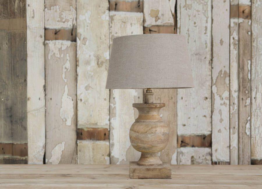 Nkukuu0027s Elegant And Stylish Manila Lamp Base Is Hand Turned From  Sustainable Mango Wood By Skilled