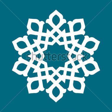 vector abstract circular pattern design mandala style round pattern