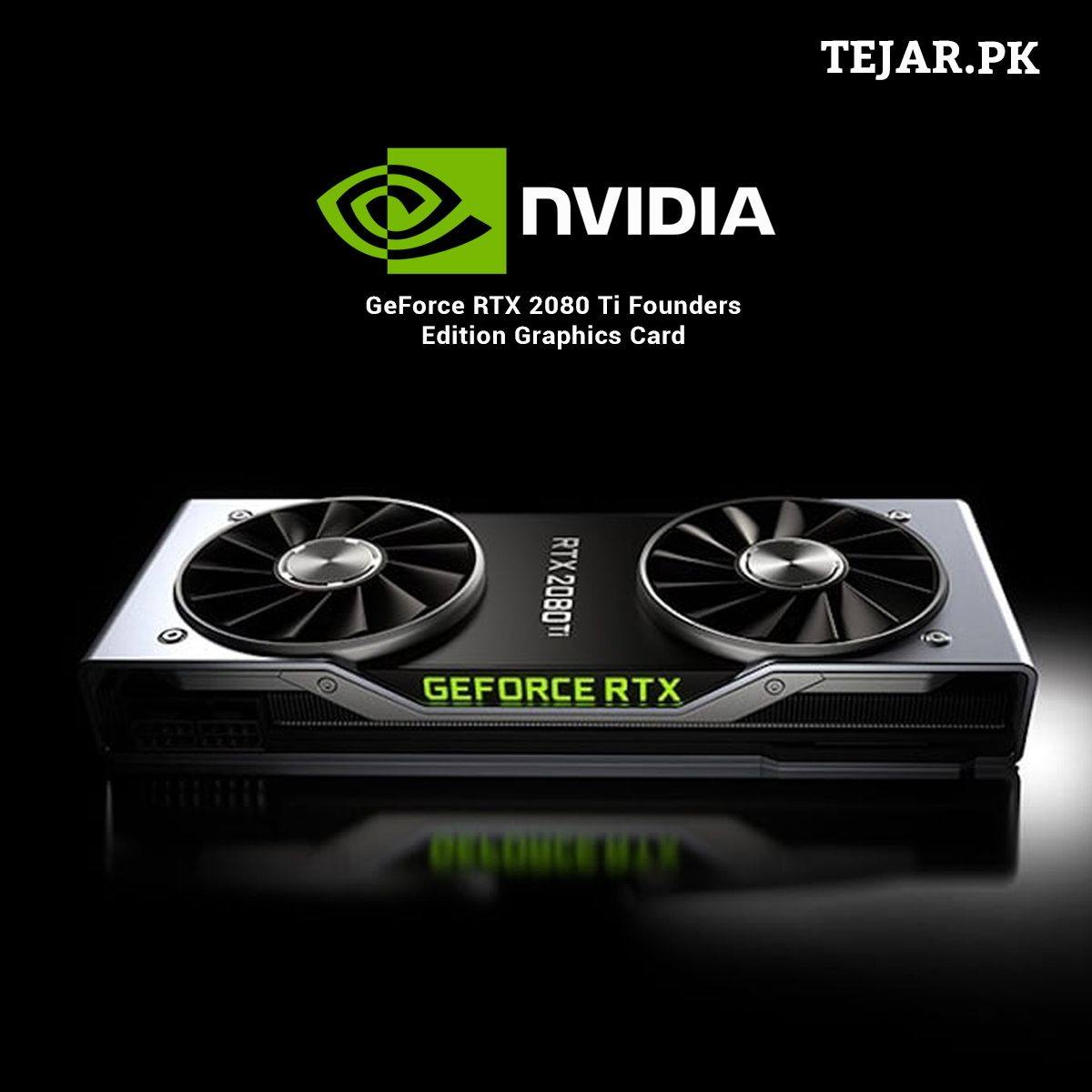 Nvidia Geforce Rtx 2080 Ti Founders Edition Graphics Card Graphic Card Nvidia Buy Computer