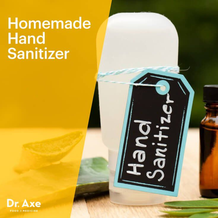 Homemade Hand Sanitizer Recipe Hand Sanitizer Tea Tree