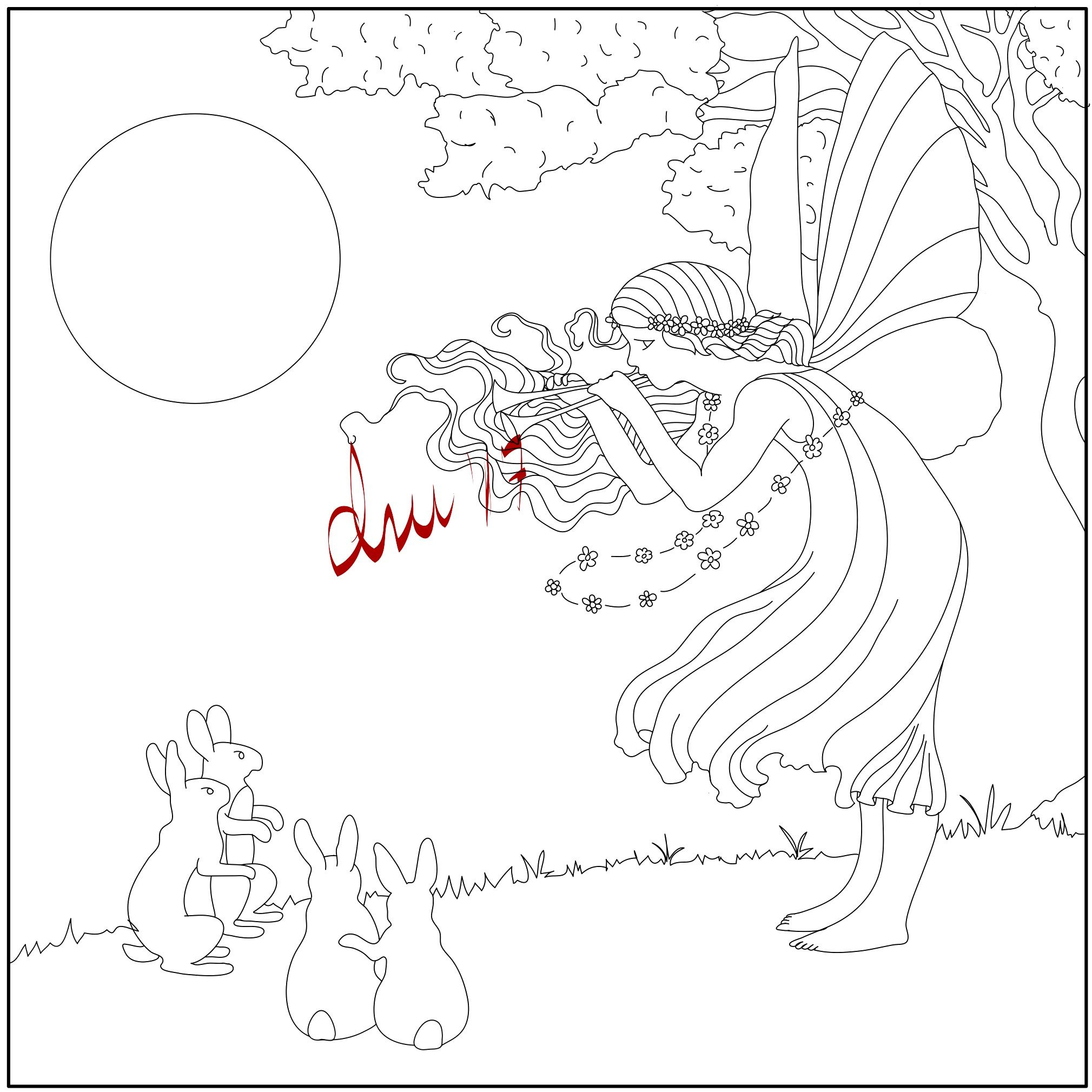 Adult Coloring Book Illustration | Adult Coloring Book Illustrations ...