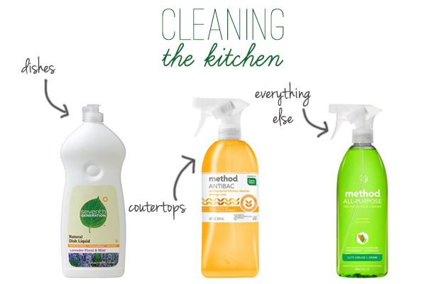 green kitchen cleaning products | Products to Try | Pinterest ...