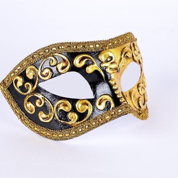 Colombina Mezza Black | Harlequin pattern, Masking and Black ...