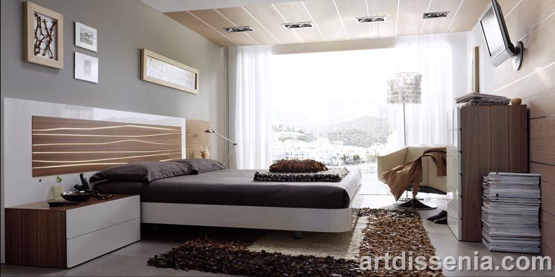 camas modernas matrimoniales - Buscar con Google Decomadera - camas modernas